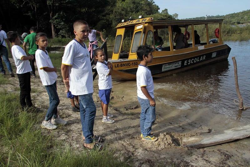Prefeitura de Manaus realiza abertura do ano letivo das escolas da zona ribeirinha do rio Negro