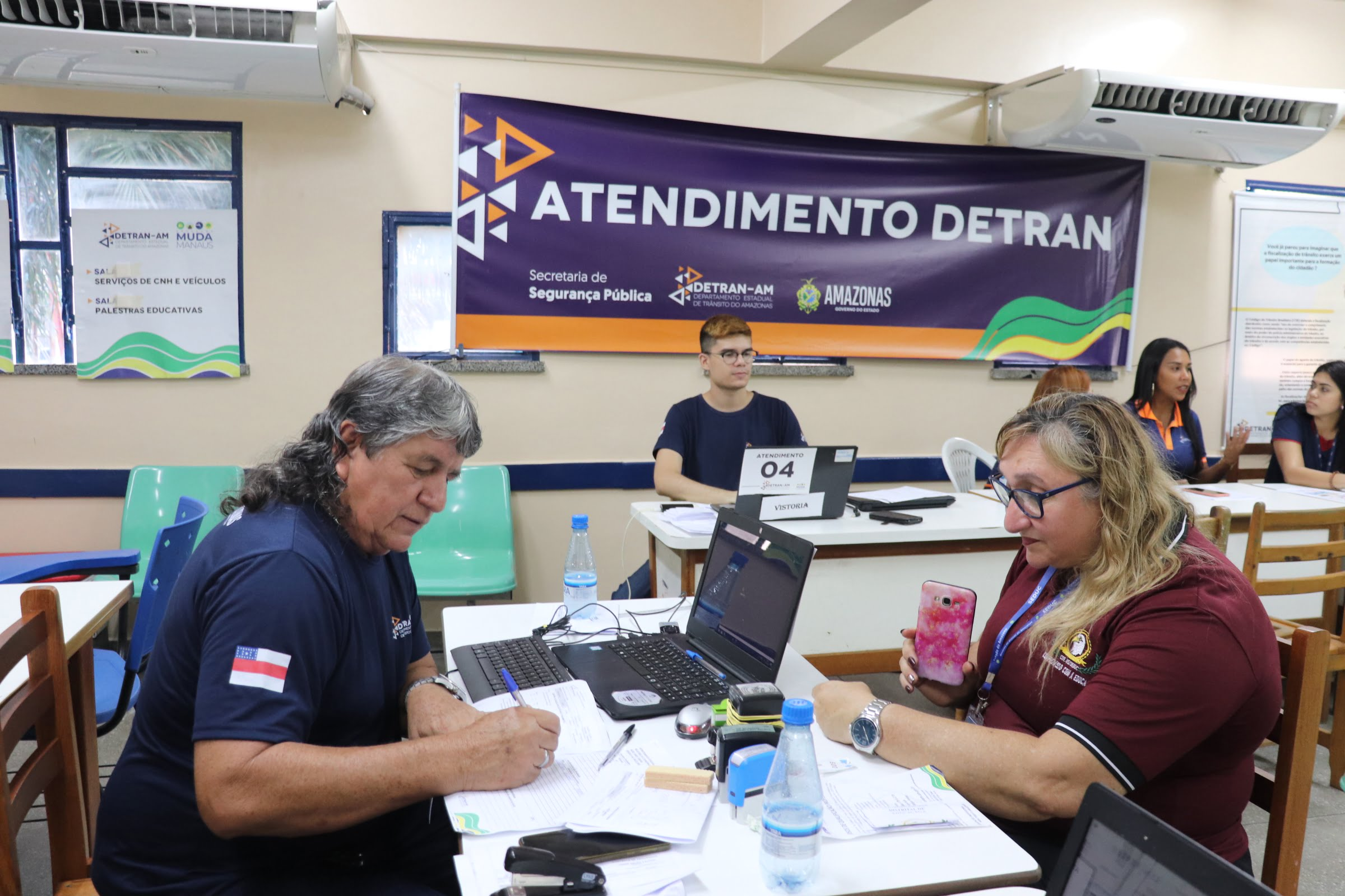 Detran-AM alcança mais de 1.800 pessoas na segunda edição do 'Muda Manaus'