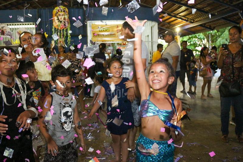 Carnaval infantil atrai 1,5 mil visitantes ao parque da Criança e programação segue até fim do mês