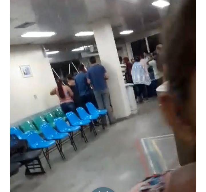 Pacientes do Hospital Francisca Mendes vivem momentos de terror
