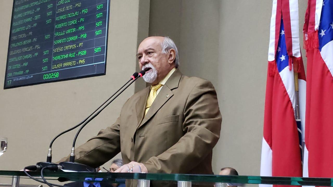 Belarmino Lins destaca a inauguração da creche Camilo da Fonseca em Novo Aripuanã