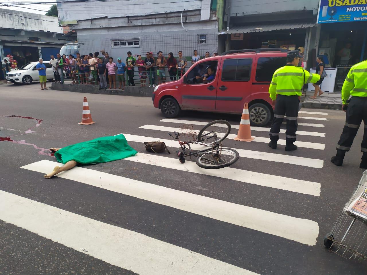 FATALIDADE -Idoso morre em acidente de trânsito na zona Leste