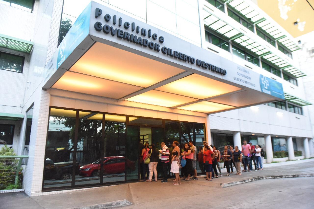 Durante o Carnaval, Governo do Estado promove mutirão de atendimentos na Policlínica Gilberto Mestrinho