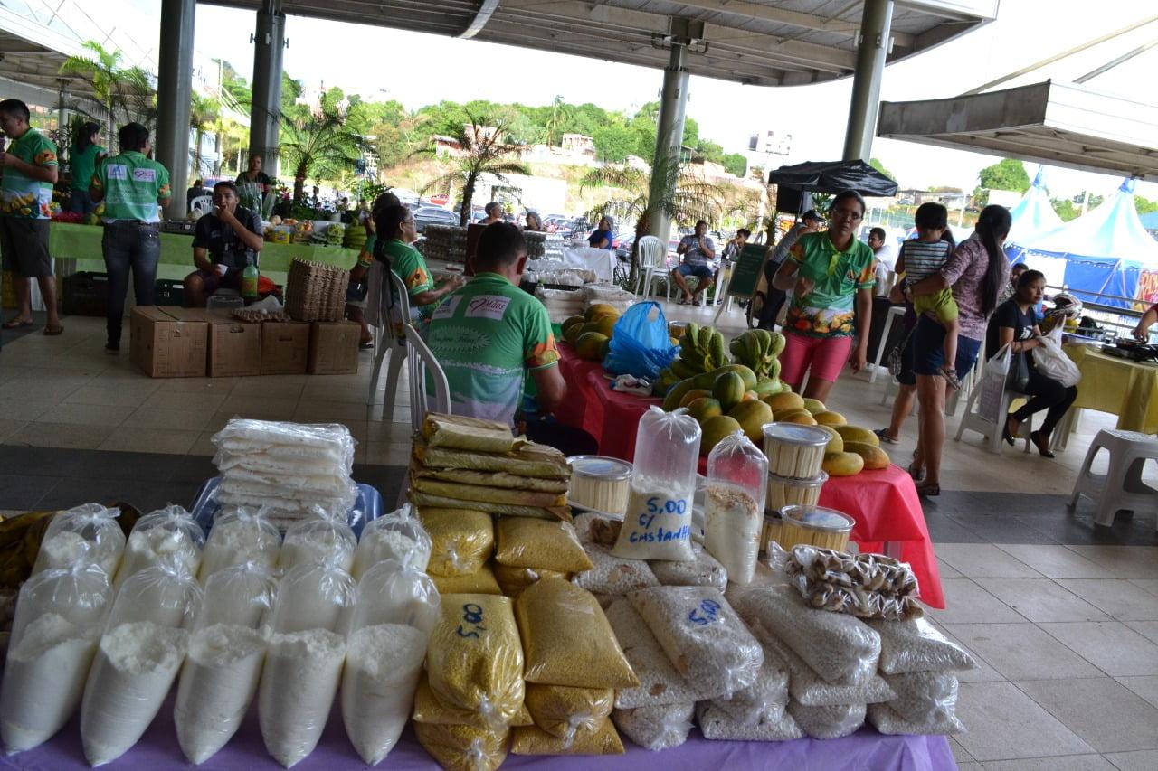 Hoje é dia de feira de produtos regionais no ViaNorte