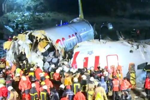 Grave acidente aéreo deixa feridos na Turquia