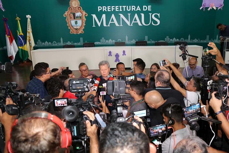 Manaus entrará em Situação de Emergência por conta de confirmação do Covid-19