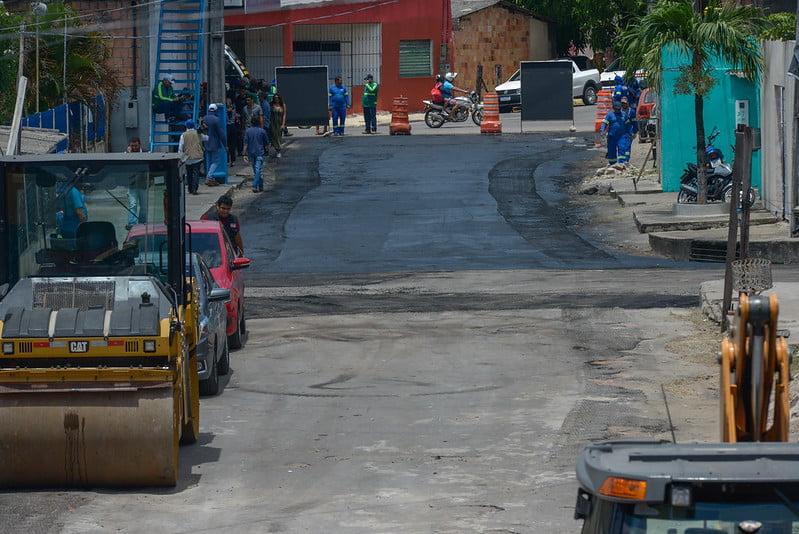 De volta às ruas, prefeito lança quinta etapa do 'Requalifica' e programa já alcança quase 600 vias