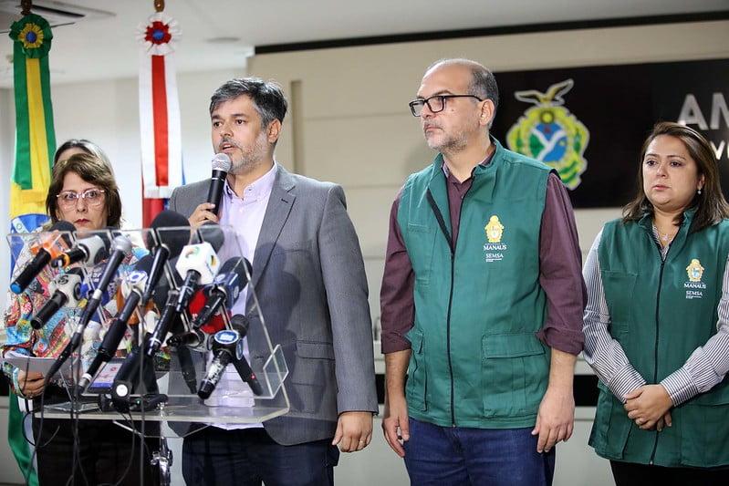 Prefeito irá decretar Situação de Emergência após confirmação do primeiro caso do Covid-19 em Manaus