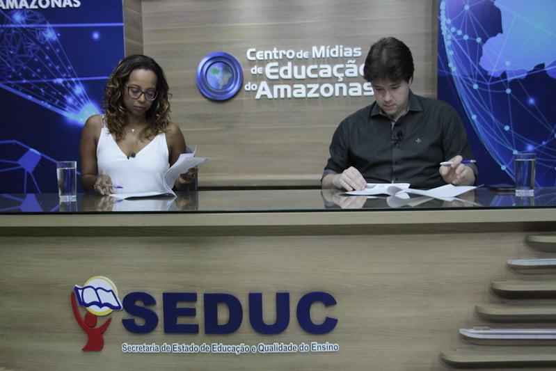 Prefeitura de Manaus e Governo do Estadofirmam parceria e ampliam projeto 'Aula em Casa' para 450 mil estudantes