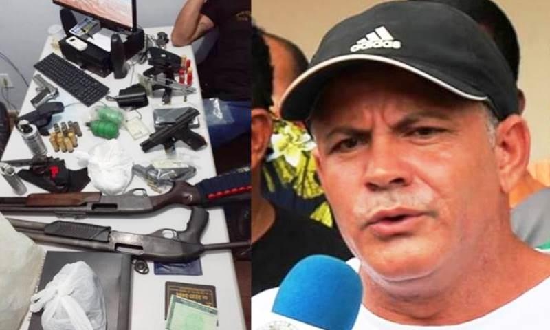 GIVANCIR OLIVEIRA – Polícia encontra granadas, pistolas, espingardas e até lançadores de gás lacrimogênio na casa do sindicalista