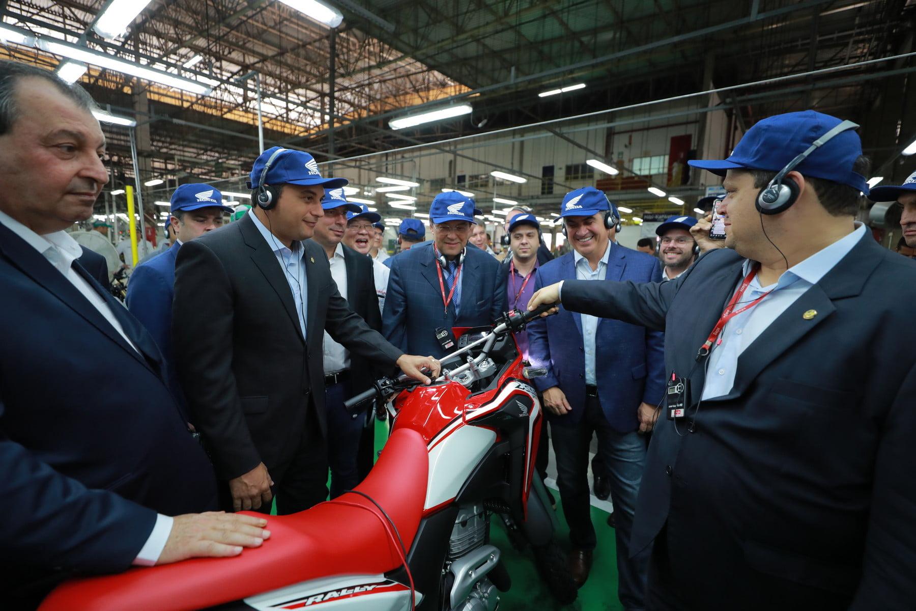 Na Moto Honda, Wilson Lima diz que reforma tributária não pode beneficiar regiões mais ricas em detrimento da ZFM