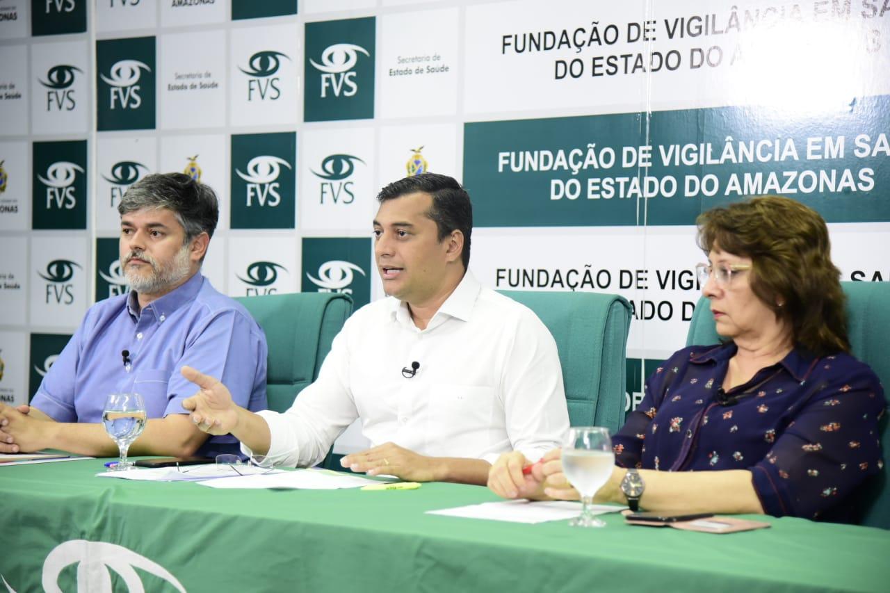 Governador Wilson Lima testa negativo para o novo Coronavírus