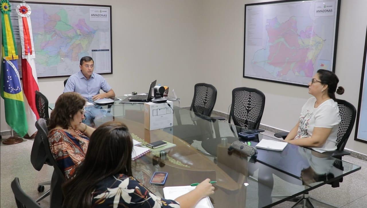 Wilson Lima defende cooperação entre os estados para reduzir impactos do novo coronavírus na economia