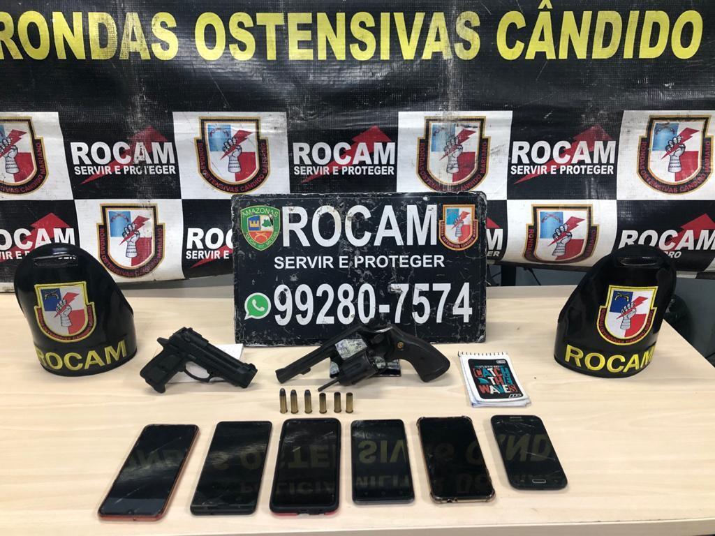 Em Manaus, 32 pessoas são presas e 12 armas apreendidas no fim de semana
