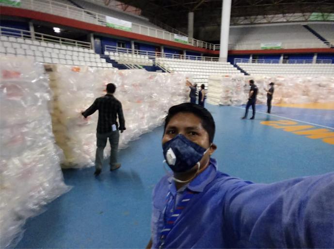 Bemol doa estoque de colchões, máscaras e cloroquina para combate à pandemia