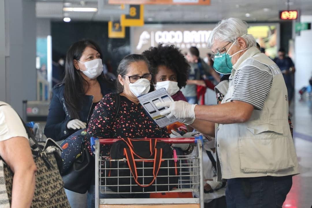 Agentes da FVS farão controle de passageiros que chegam pelo Aeroporto Eduardo Gomes