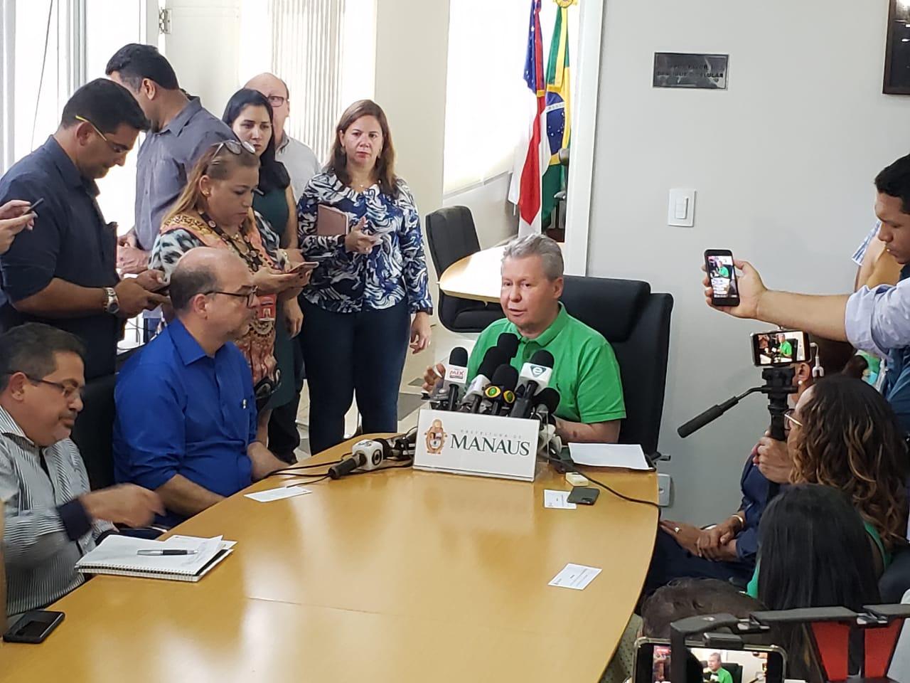 COMUNICADO URGENTE – Prefeito anuncia novas medidas emergenciais de prevenção à Covid-19 na capital