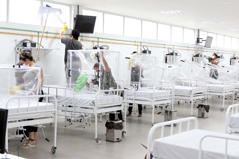 Novos leitos semi-intensivos estão disponíveis no Hospital de Campanha Municipal Gilberto Novaes