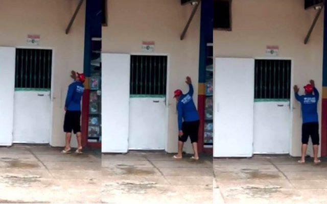 PANICO EM ÔNIBUS – Homem com máscara passa mal em coletivo com suspeita de contaminação por Coronavírus em Manaus