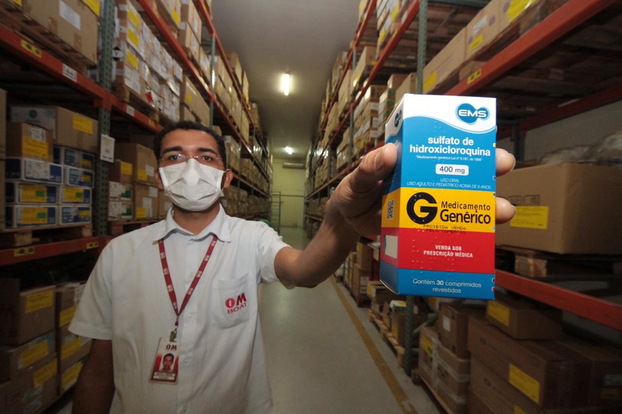 Cema tem reforçado seus estoques para manter as unidades de Saúde do Estado abastecidas