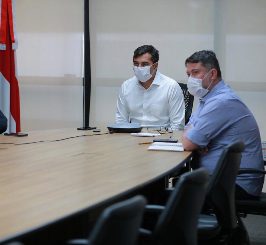 Wilson Lima determina o pagamento de R$ 60 milhões a cooperativas médicas e terceirizados da saúde
