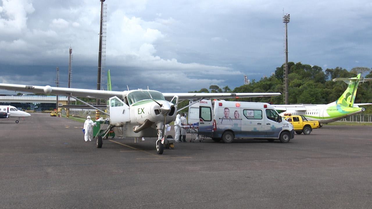 Susam aciona UTI aérea para transferir pacientes de Parintins para a capital