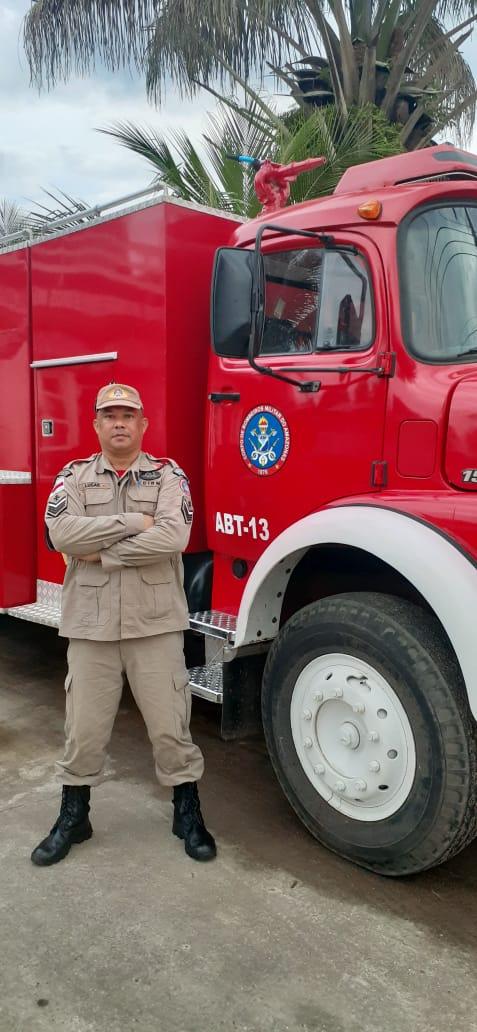 Corpo de Bombeiros do Amazonas comemora o primeiro militar curado de Covid-19