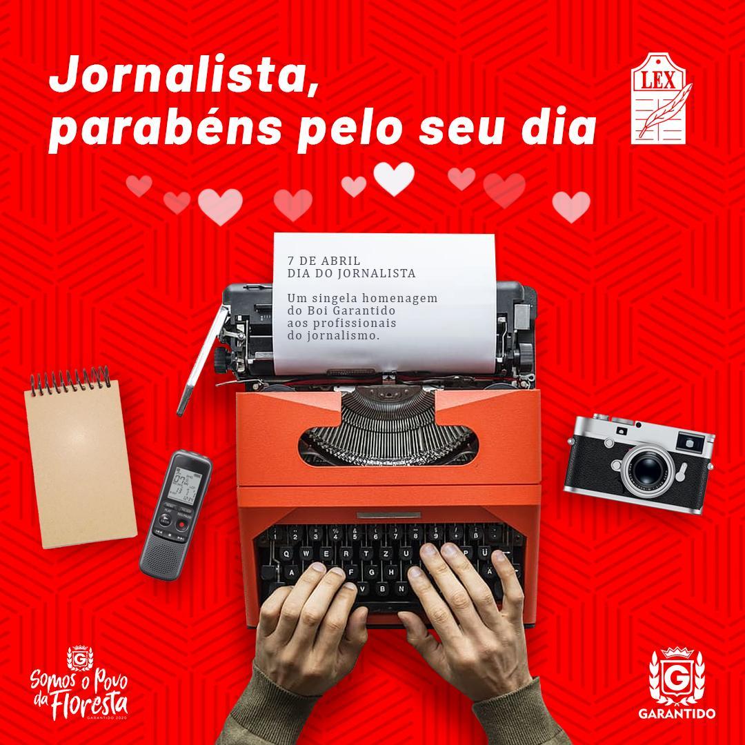 Boi Bumbá Garantido homenageia jornalistas
