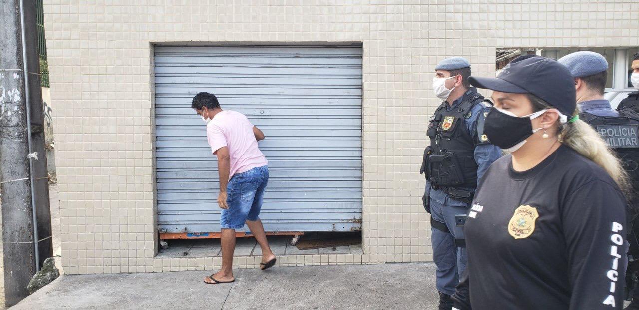 Forças de Segurança deflagram segunda fase da operação 'Fica em Casa', em Manaus