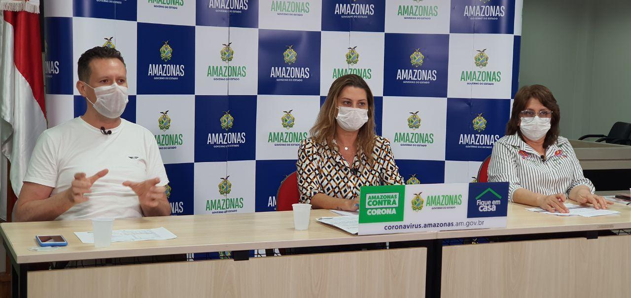 Amazonas tem 1.554 casos de Covid-19 e fortalece rede de assistência com Plano de Resposta e novos profissionais de saúde