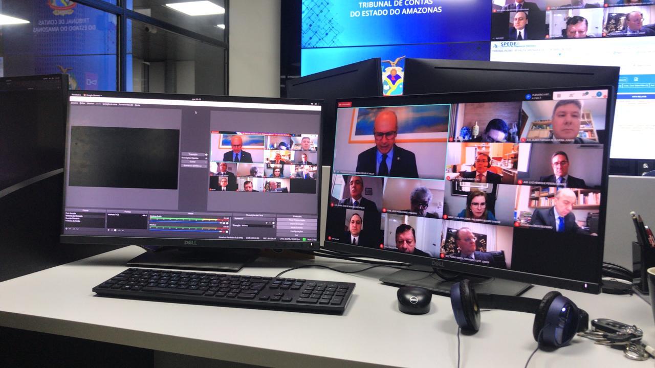 Sessão virtual do TCE-AM terá 41 processos em pauta nesta terça (28)