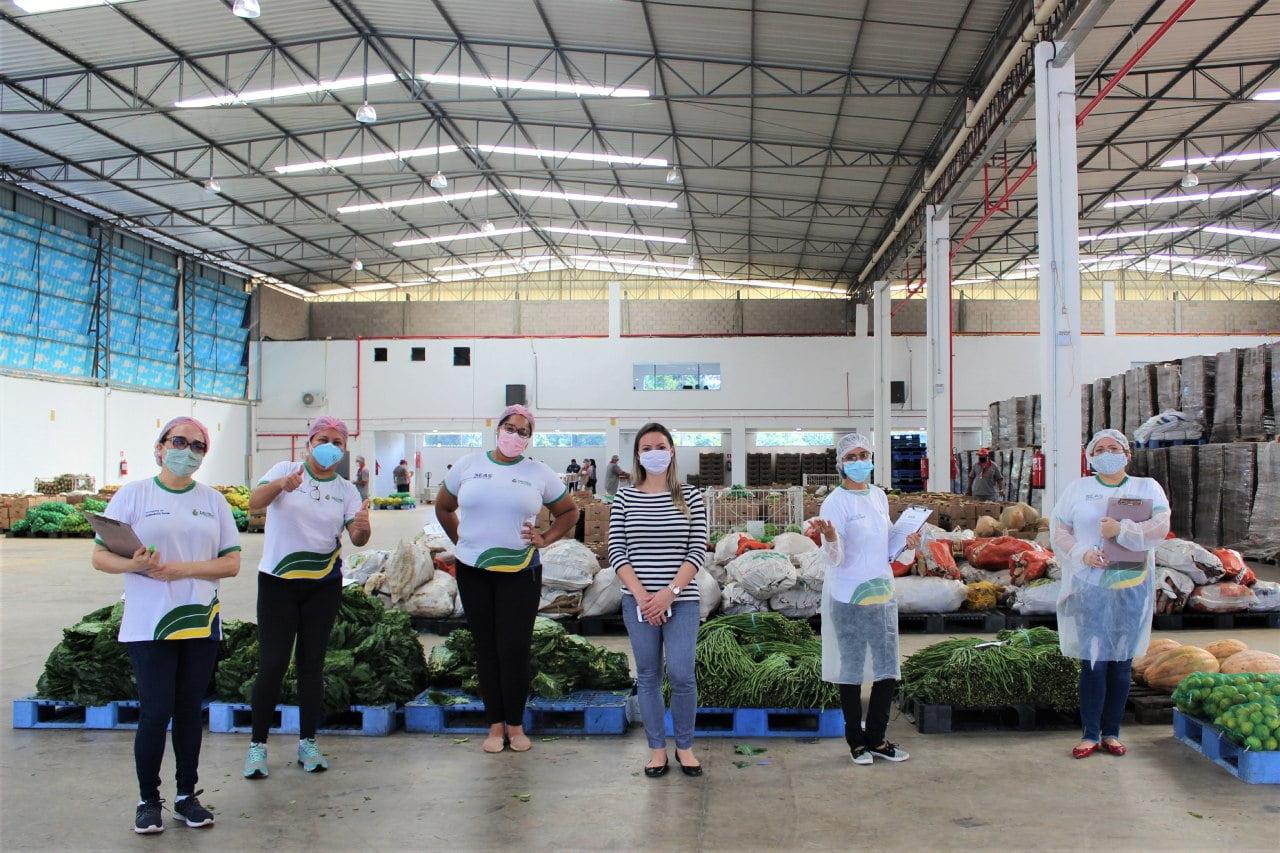 Seas beneficia 1.630 famílias com frutas e verduras