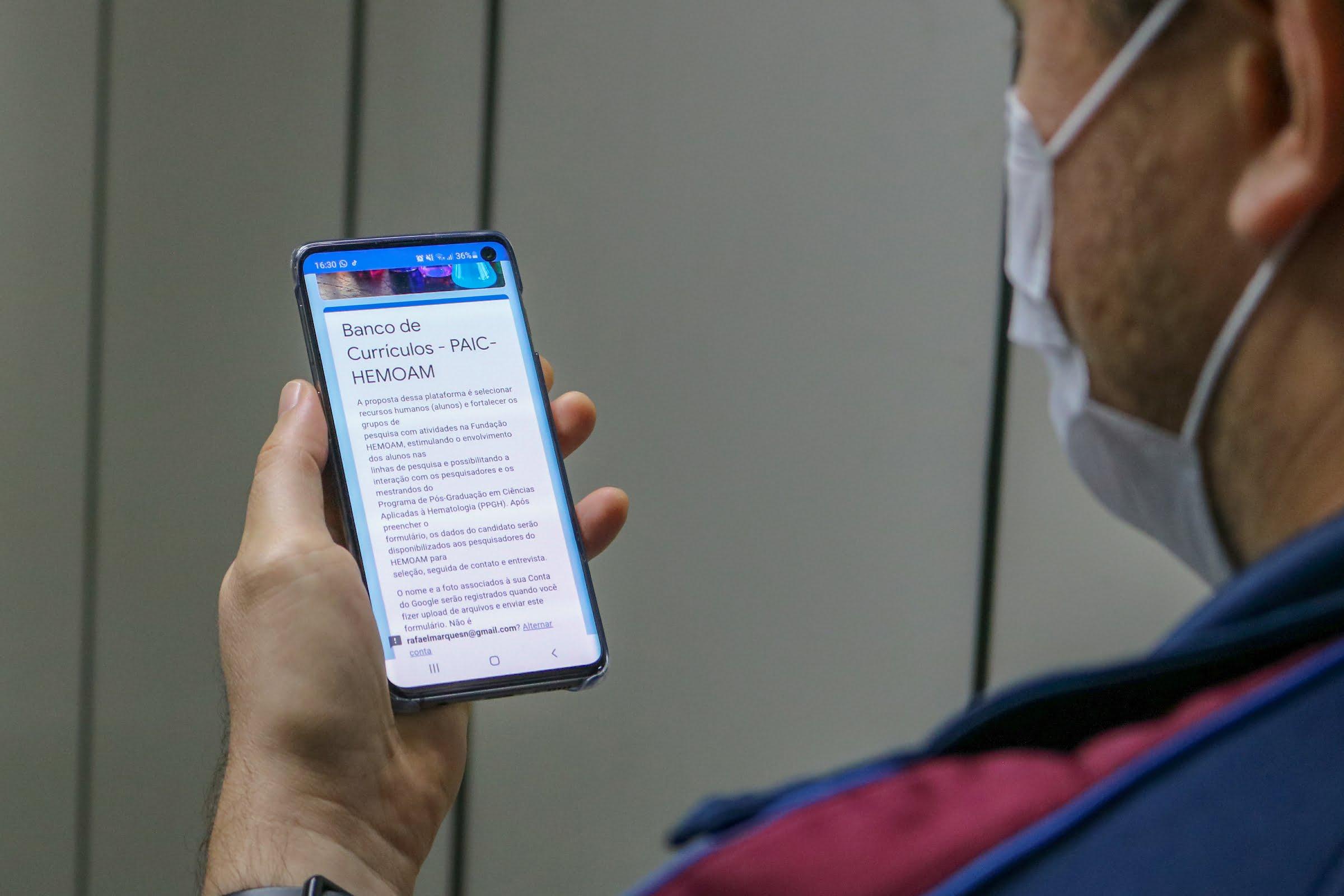 Hemoam lança banco de currículos virtual para seleção de bolsistas em Projetos de Iniciação Científica