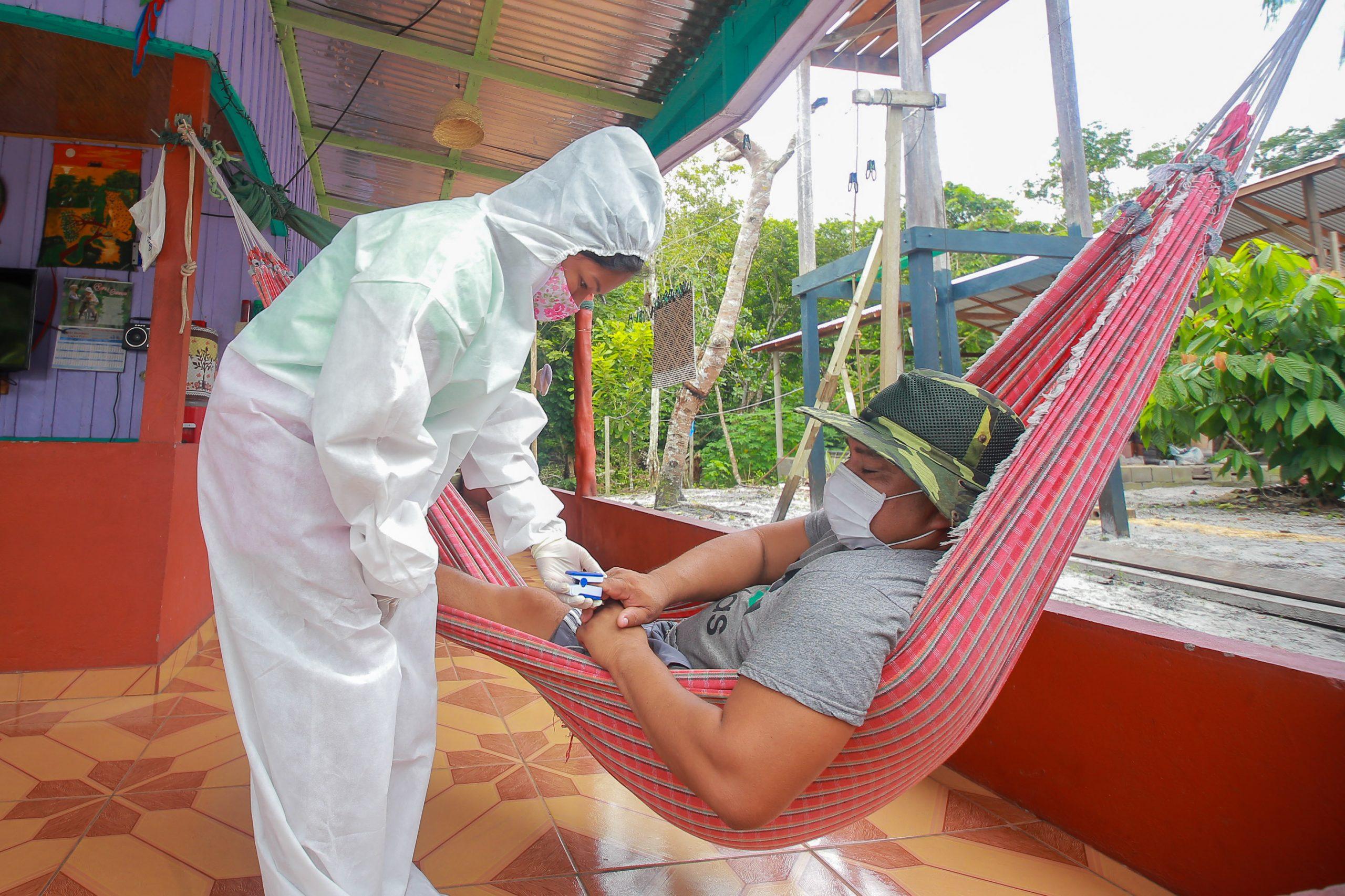 Governo do Estado disponibiliza 200 testes rápidos para diagnóstico de Covid-19 em Unidades de Conservação do Amazonas