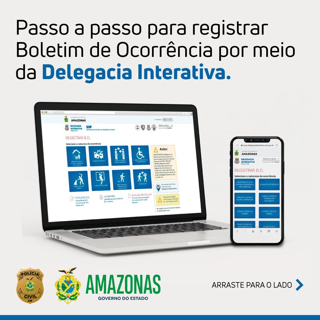 Delegacia Interativa registra aumento de mais de 20% de Boletins de Ocorrência