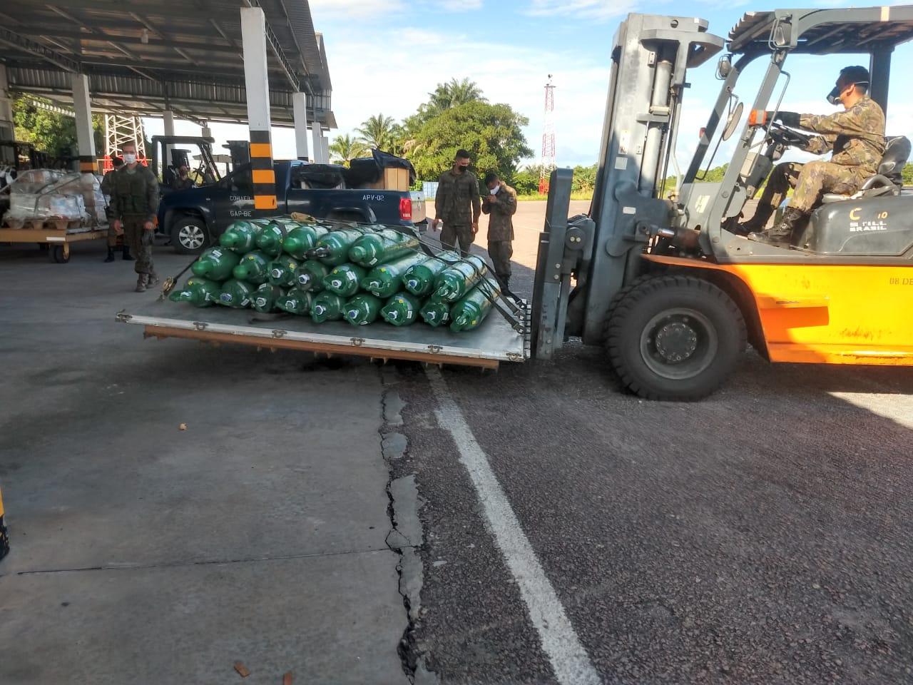 Governo do Amazonas envia cilindros de oxigênio para suprir a demanda de São Gabriel da Cachoeira