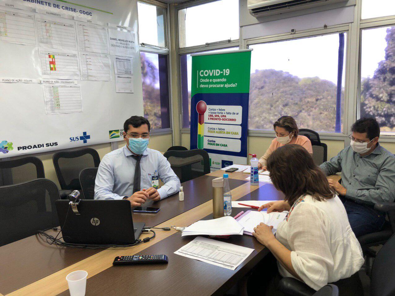 Juiz da 4ª Vara da Fazenda Pública se diz satisfeito com ações apresentadas pela Susam para o enfrentamento da pandemia do novo coronavírus