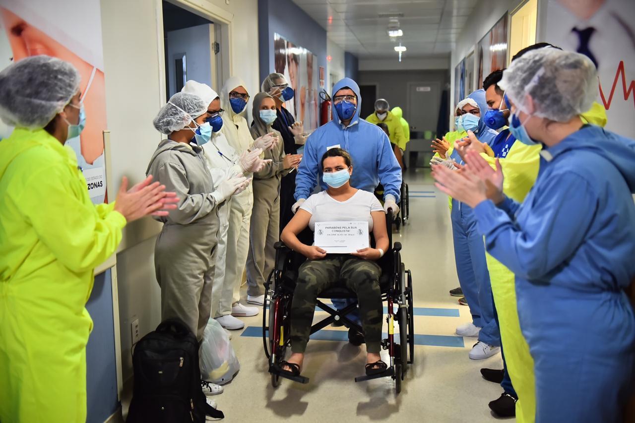 Hospital Delphina Aziz registra dez altas médicas nesta segunda-feira (18/05)