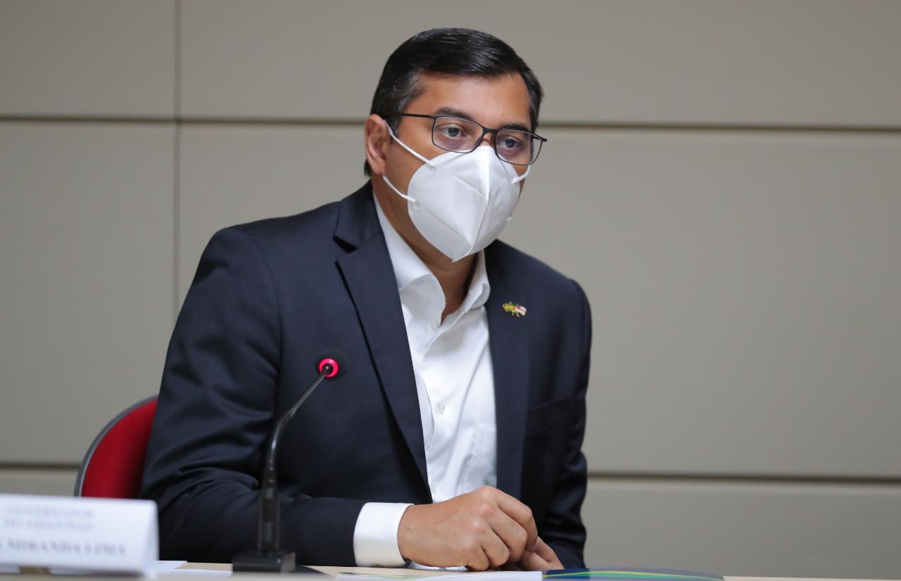 Wilson Lima condiciona abertura do comércio em junho ao comportamento da pandemia de Covid-19
