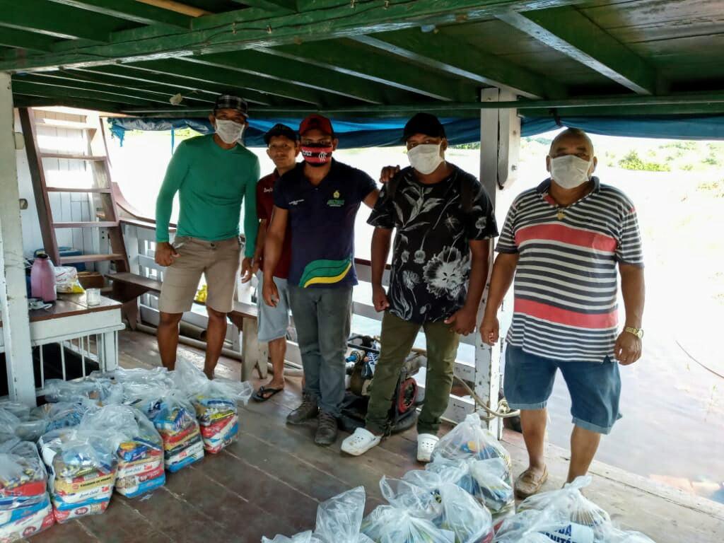 FEI leva ajuda humanitária à etnias indígenas no Médio Rio Madeira