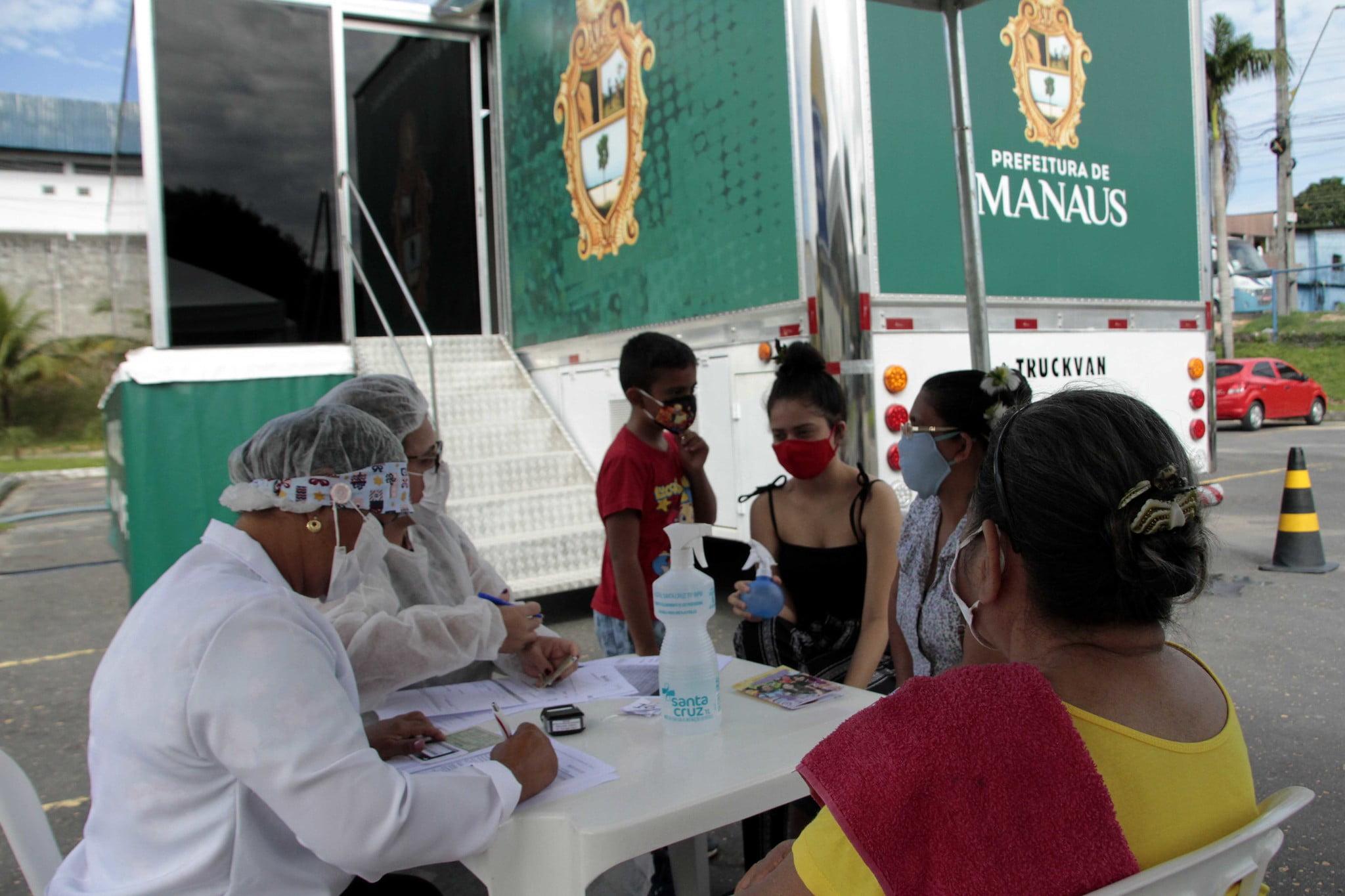 Ação de saúde da Prefeitura de Manaus oferece atendimento a indígenas kokamas