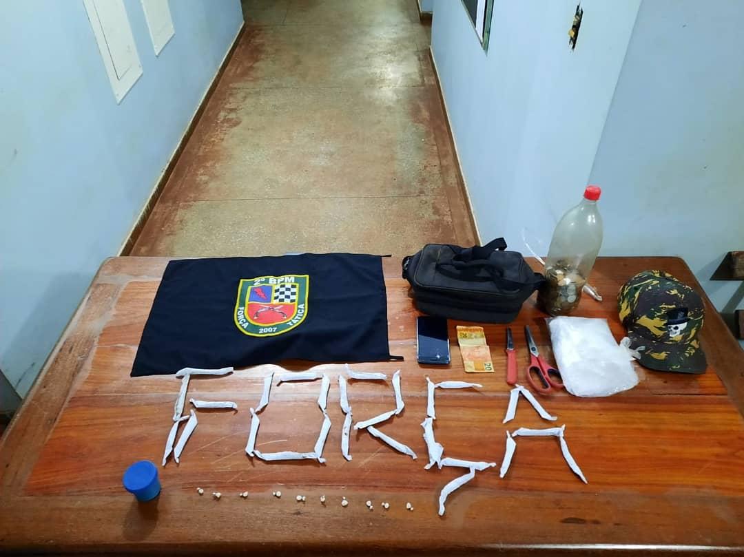PM  prende trio por tráfico de entorpecentes em Itacoatiara