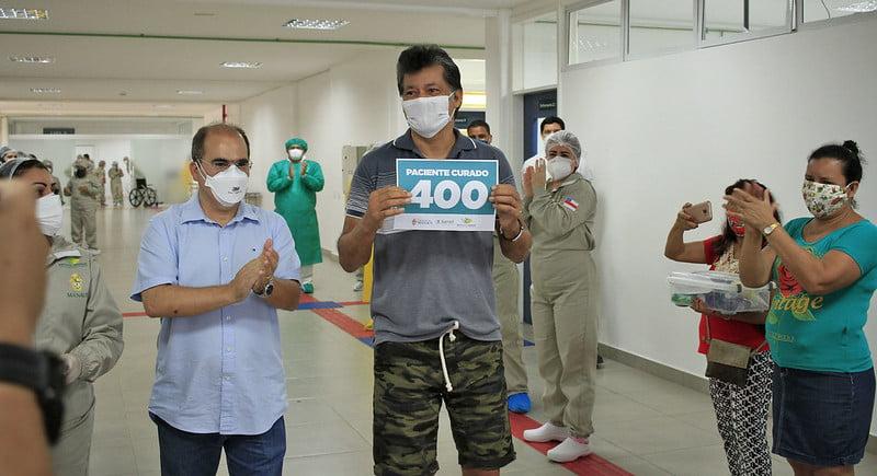 CINQUENTA DIAS hospital de campanha da prefeitura tem 430 curados e ampliará leitos