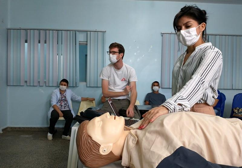 MUNICÍPIO DE TEFÉ – Médicos Sem Fronteiras começa atividades contra a COVID-19 no Amazonas