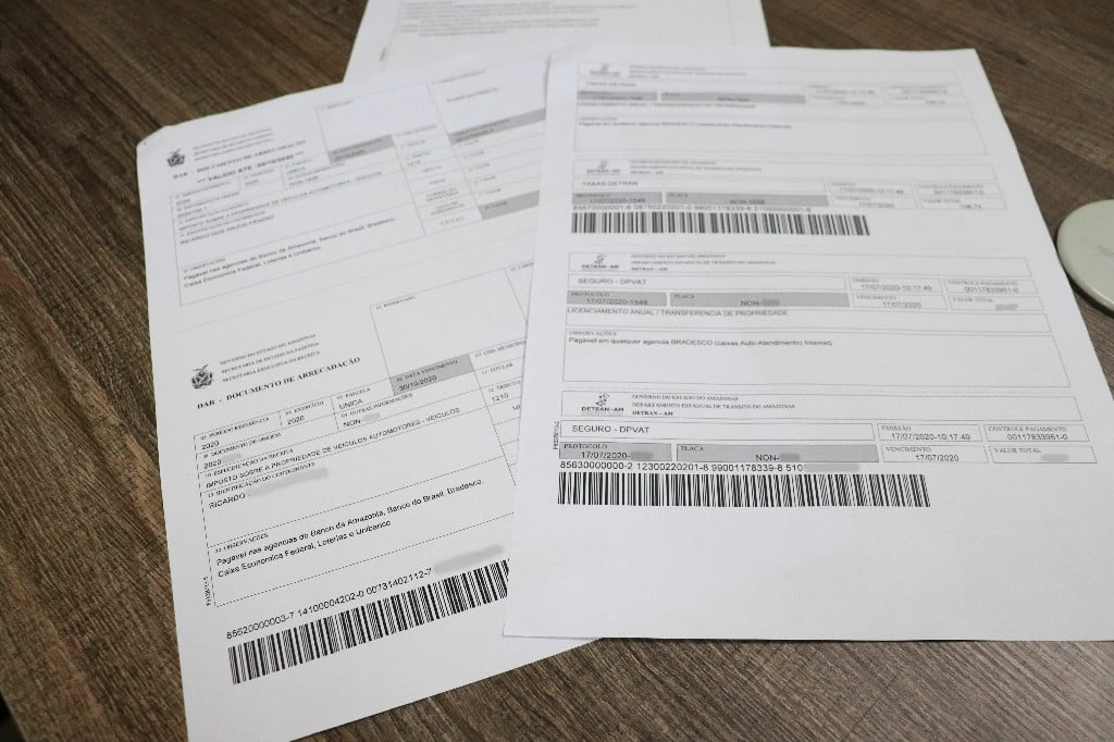DETRAN-AM  libera reemissão de taxas de licenciamento pela internet