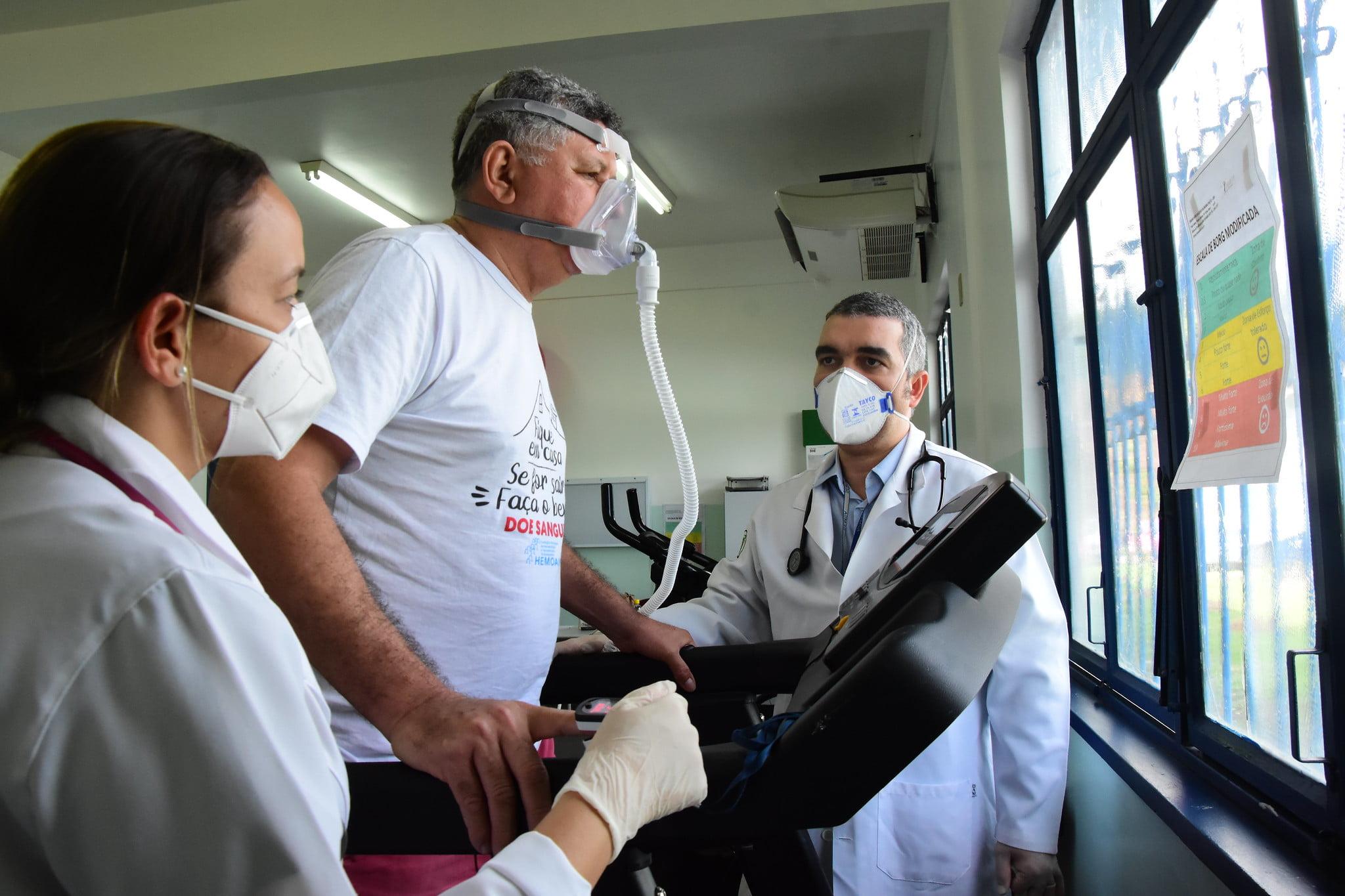 PREFEITURA  oferece fisioterapia pulmonar gratuita para pacientes recuperados da Covid-19