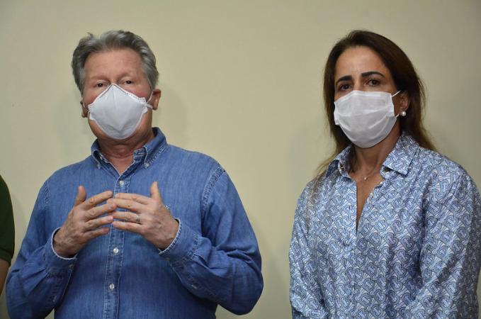PREFEITO E PRIMEIRA-DAMA de Manaus seguem em tratamento da Covid-19 no hospital Adventista