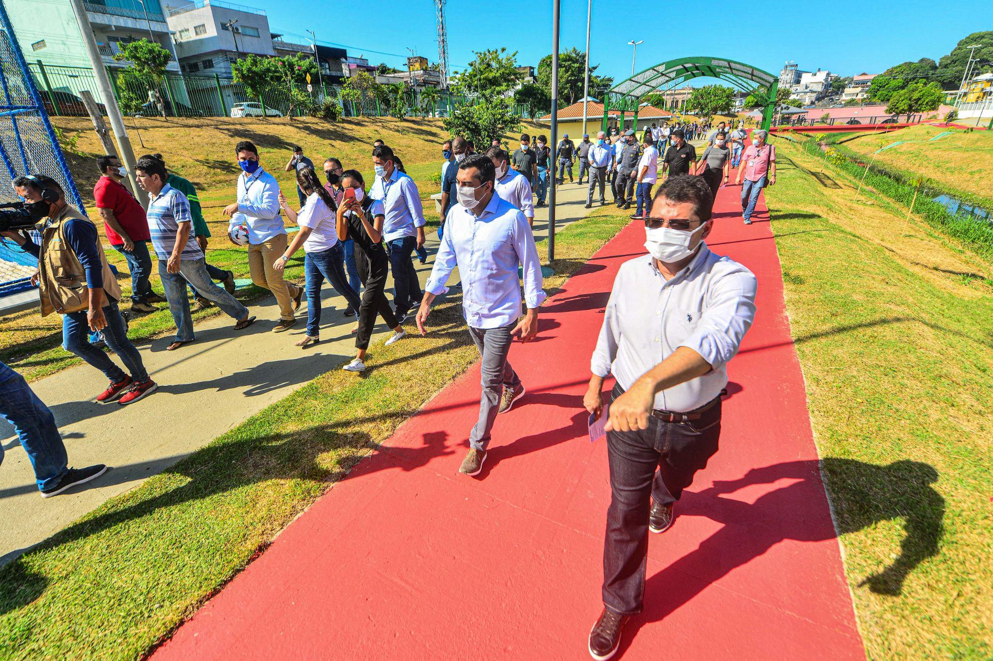 COM REVITALIZAÇÃO  de parques, Wilson Lima reforça missão do Prosamim