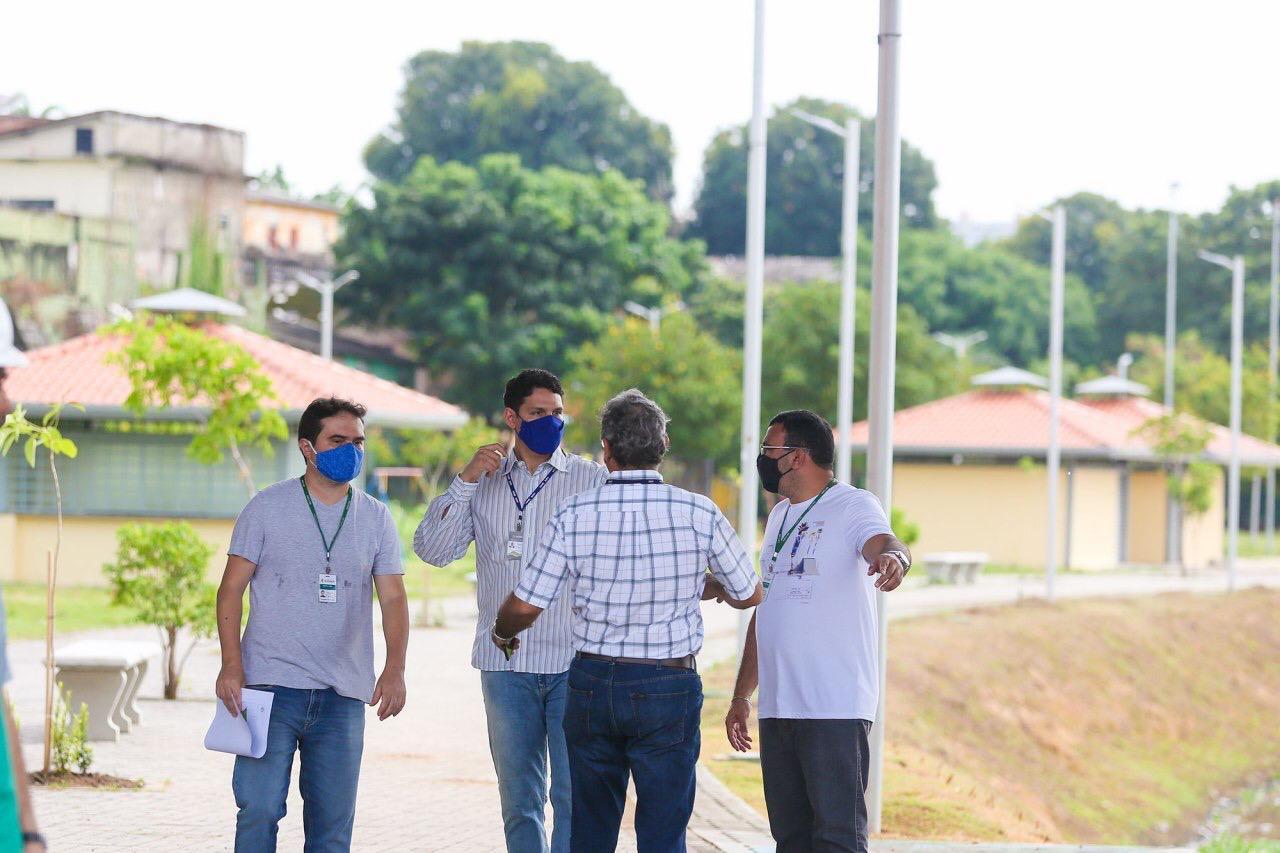 GOVERNO E MUNICÍPIO realizam visita técnica nos Parques Urbanos do Prosamim
