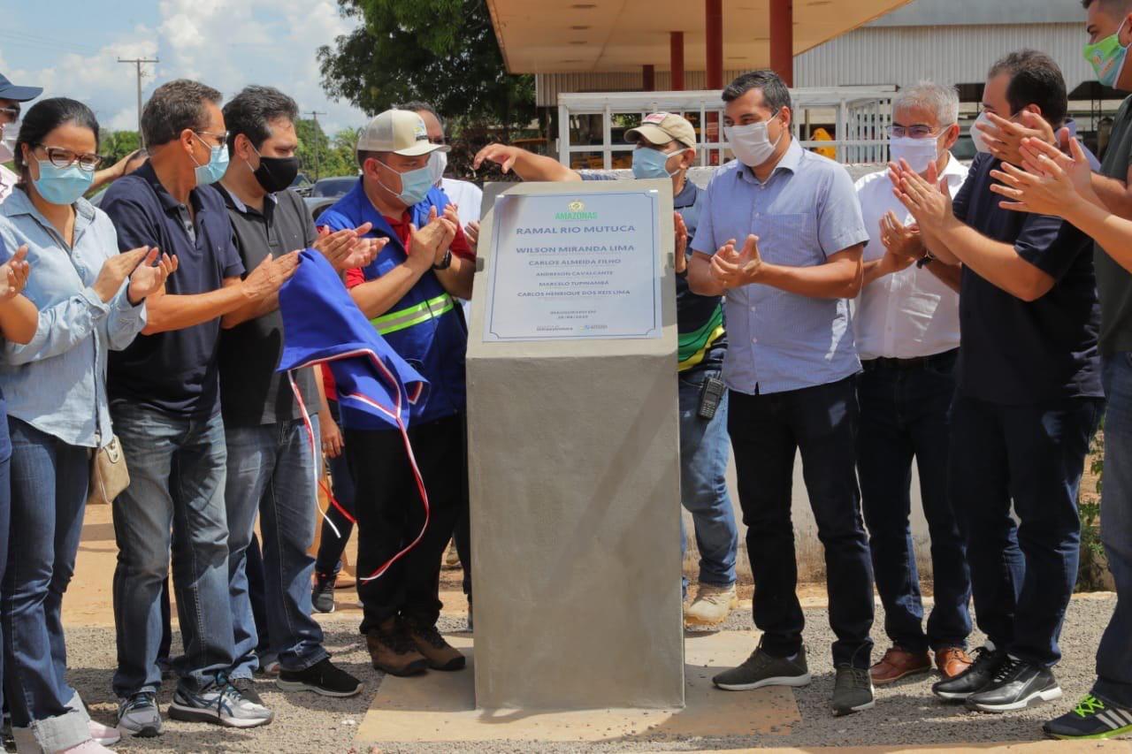Governo do Amazonas entrega 16 obras de infraestrutura durante pandemia